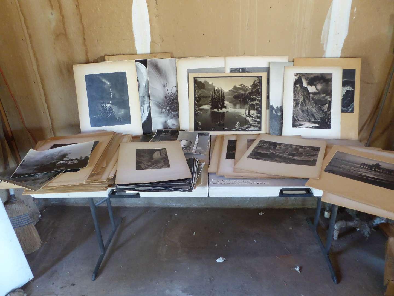 Lot # 464 - Old Black & White Photos (1940's) (Many of Yosemite & Yellowstone) (main image)