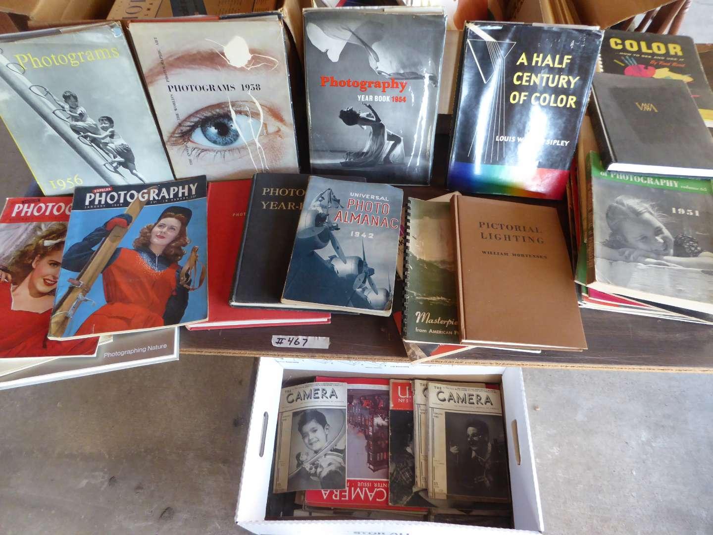 Lot # 467 - Vintage Photography Books & Magazines  (main image)
