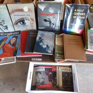 Lot # 467 - Vintage Photography Books & Magazines