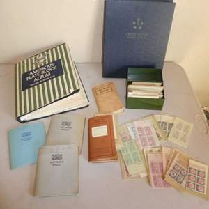 Lot # 246 - Vintage American Stamp Plate Blocks Collection (Dates Vary, See Photos)