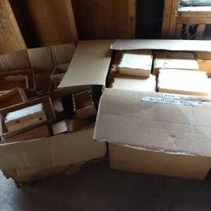 Lot # 469 - Variety of Wooden Boxes (160+ Boxes)