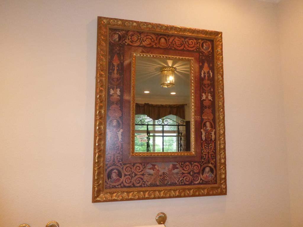 Lot # 517 - Italy Themed Framed Wall Mirror (main image)