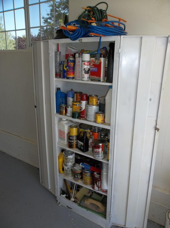 Garage Cabinet  & All Contents (main image)