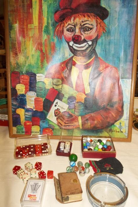 Lot of Vintage Casino Collectibles (main image)