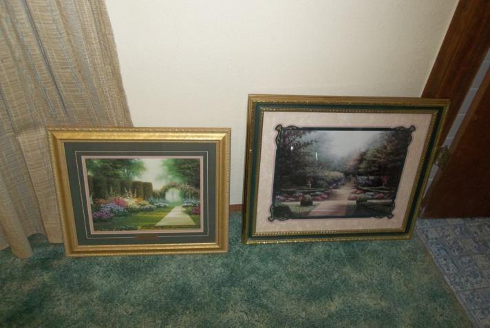 2 Nice Gold Framed Prints  (main image)
