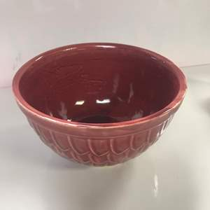 Lot # 32 - McCoy marked Pottery Bowl