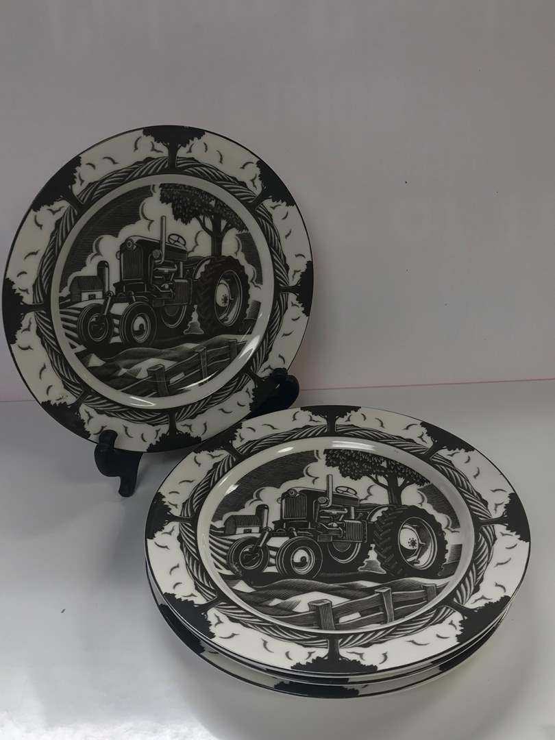 Lot # 35 - 222 Fifth, Slice of Life, Tractor Plates, Illustration by: Chris Gall (main image)