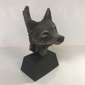 Lot # 42 - Rick Cain Sculpture, Wolf Trail Ltd Edition 600/2000