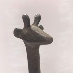 Lot # 47 - Metal Material Garaffe Statue / Figurine