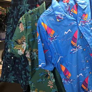 Lot # 51 - 3 Hawaiian Shirts, New, with Tags