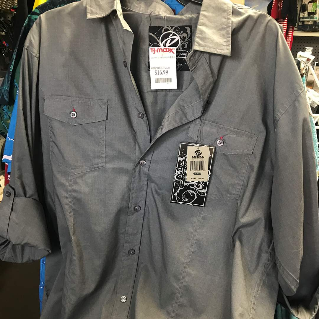 Lot # 52 - 1 New Drill Shirt, with Tags (main image)