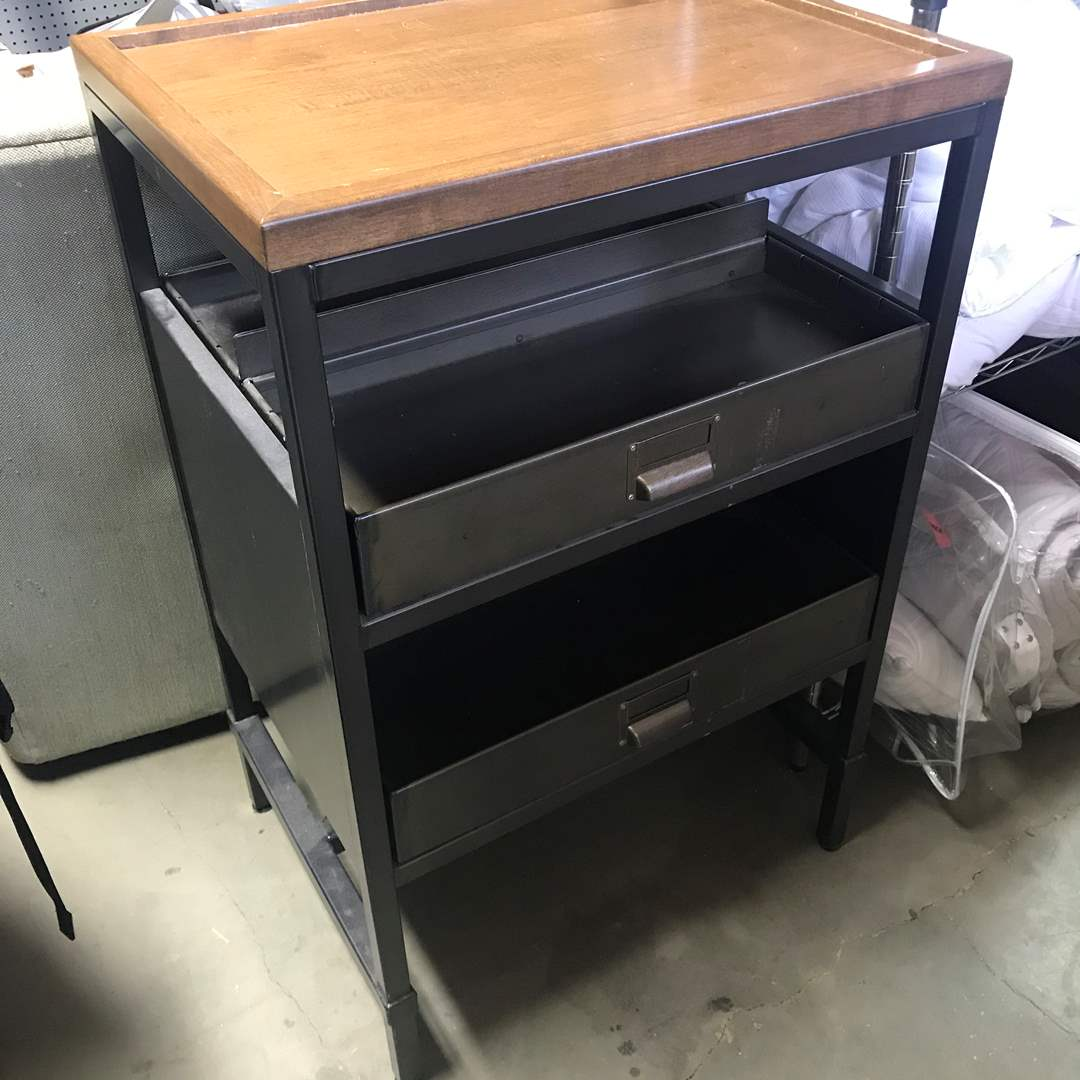 Lot # 54 - Coffee Stand with 4 Drawers (main image)
