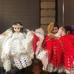 Lot # 10 - Vintage Kellogg's Happy Holiday Dolls