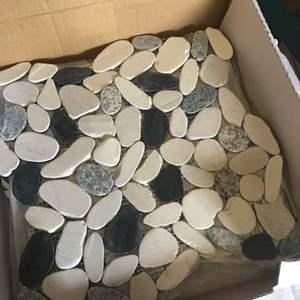Lot # 12 - TILE: Emser Flat Venetian Pebble Italia Tiles