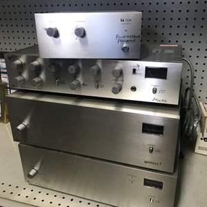 Lot # 18  - TOA Commercial Amplifier Set
