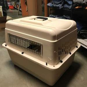 Lot # 76 -  Petmate Dog Kennel and some Accessories