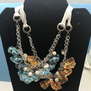 Lot # 28 - 2 Fashion Jewelry Necklaces