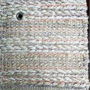 Lot # 6 - Area Rug, Bleached Jute, Size 5 x 7