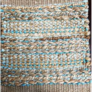 Lot # 9 - Area Rug, Bleached Jute, Size 5 x 7
