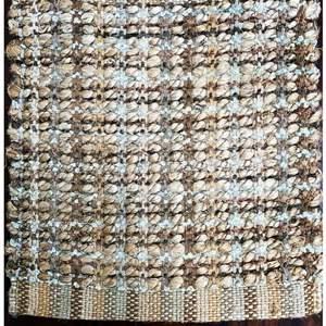 Lot # 16 - Area Rug, Design Sophistication - Bleach Jute, Size 8 x 10
