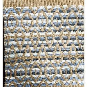Lot # 30 - Area Rug, Design Sophistication - Bleach Jute, Size 5 x 7