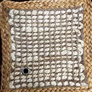 Lot # 34 - Area Rug, Design Sophistication - Bleach Jute, Size 8 x 10