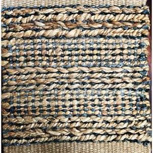 Auction Thumbnail for: Lot # 41 - Area Rug, Design Sophistication - Bleach Jute, Size 9 x 12