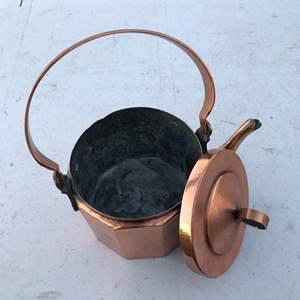 Lot # 19 - Copper Tea Pot
