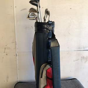Lot # 21 - Mizuno Golf Clubs and Miller Bag