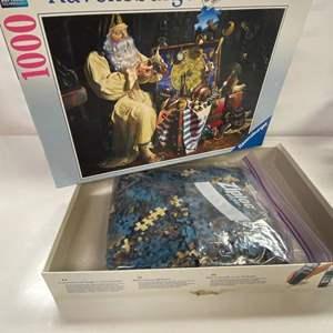 Lot # 7 - Ravensburger Premium Soft 1000 Piece Puzzle - The Dreamer's Trunk