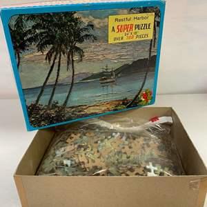 Lot # 21 - The New Super Puzzle, Restful Harbor a 700 Piece