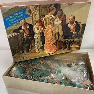 """Lot # 23 - Vintage, Rare, """"Old Master"""" Jigsaw Puzzle, 1500 Pieces"""