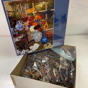 Lot # 24 - John Powell, 750 Piece Jigsaw Puzzle: Antiques (Floral)