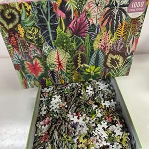 Lot # 26 - Houseplant Jungle, 1000 Piece Puzzle