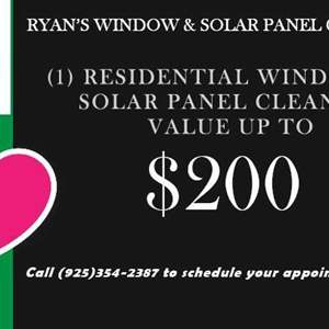 Lot # 9 - Ryan's Window and Solar Cleaning (Auction Item)