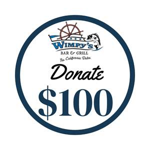 Lot # 15 - $100 Cash Donation to Wimpy's Cafe Now