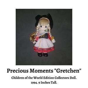 Lot # 70 - Gretchen. Children of the World Edition Precious Moments (Auction Item)