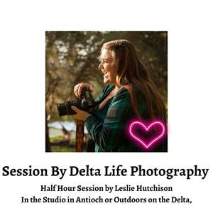 Lot # 77 - Delta Life Photography Session Outdoor or in the Studio.  (Auction Item)