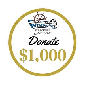 323 (b) Lot # 1000 - Donate $1,000 Instantly to Save Wimpy's Cafe