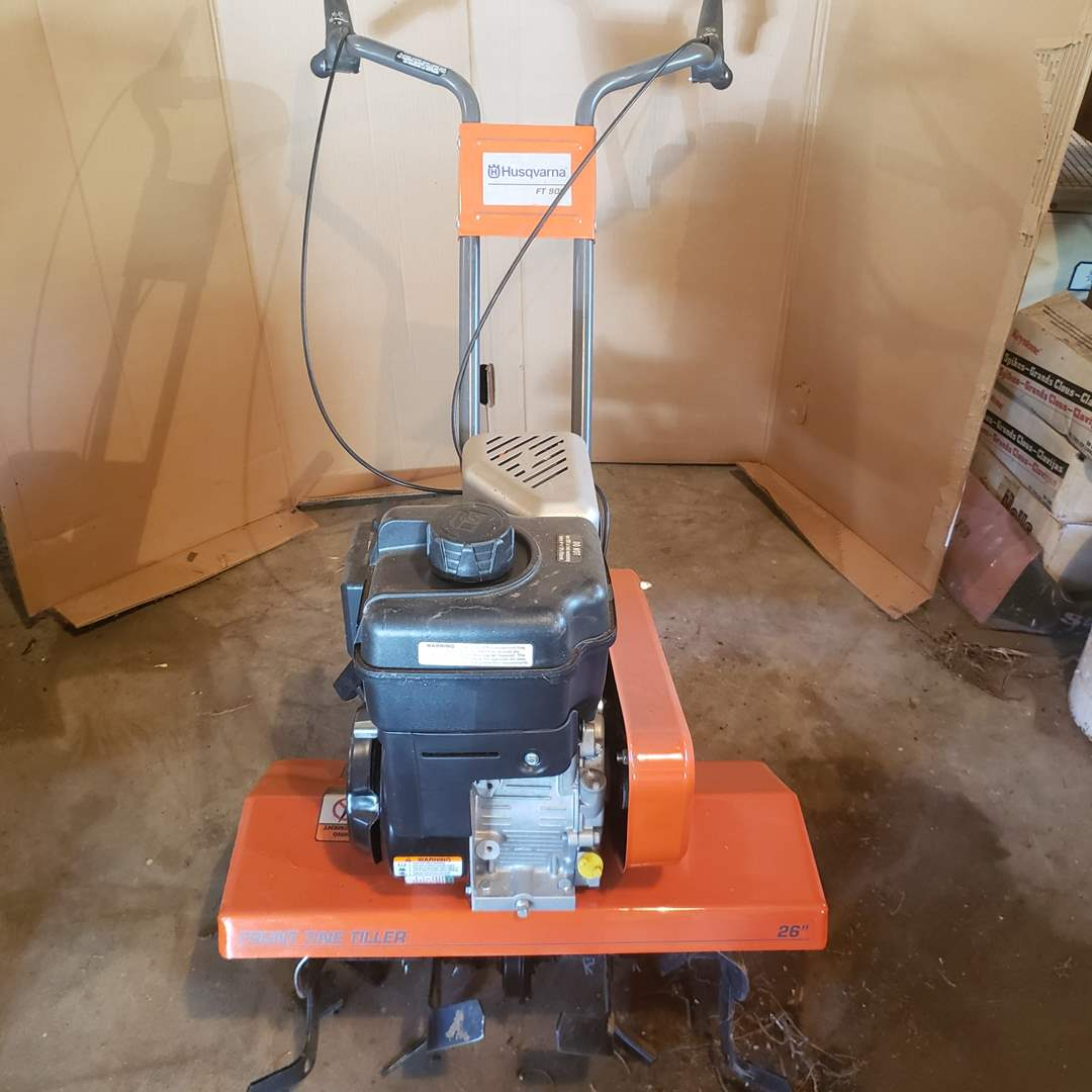Lot# 1 - Husqvarna Rototiller FT 900 * Very Gently Used (main image)