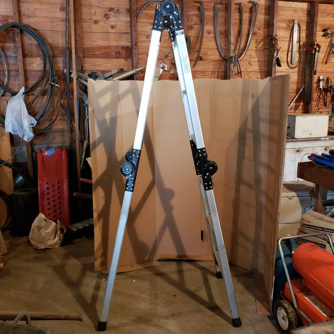 "Lot# 17 - Westway 12'6"" adjustable ladder PAL/M6125 (main image)"