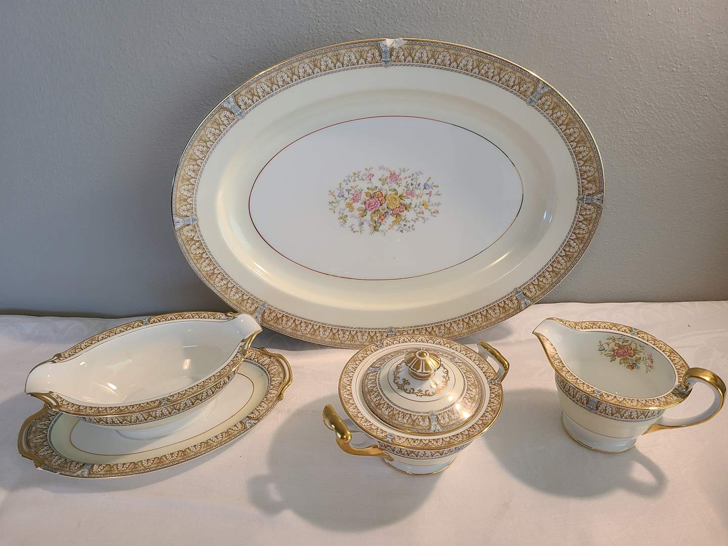 Lot# 167 - Serving Pieces for Noritake China Set  (main image)