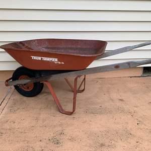 Auction Thumbnail for: Lot #173 - Tru Temper 4 Cubic Foot Wheel Barrow