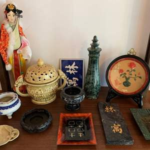 Lot #28 - A Selection of Asian Decorating Items