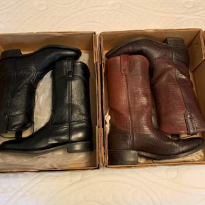 Lot #68 - Two Pair Men's Western Boots, Size 8.5D, One is Acme