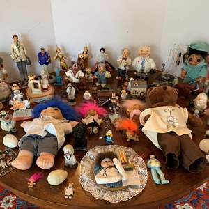 Lot #89 - Large Selection of Vintage Dolls, Figurines and Collectables