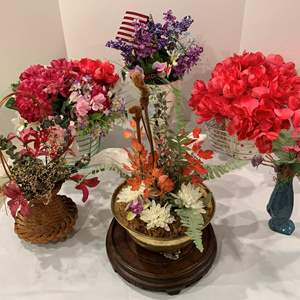 Lot #91 - Beautiful Floral Arrangements For Your Home