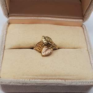 Lot #101 - 10K Gold Black Hills Gold Ring, Size 5