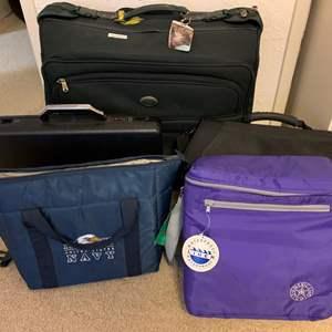 Lot #139 - Luggage, Briefcase, Coolers, Solo, American Studio