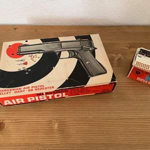 Lot #147 - Fast Load, Powerful Marksman Air Pistol, Shoots Pellets, Darts and BB's